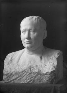 Бюст авиаконструктора А.Н. Туполева. Мрамор. 1932 Архивное фото